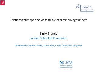 Relations entre cycle de vie familiale et santé aux âges élevés