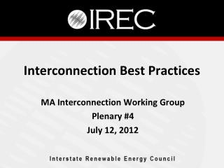 Interconnection Best Practices