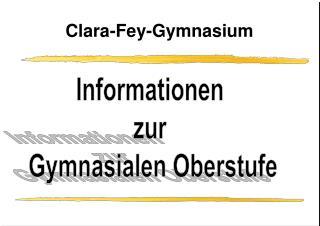 Clara-Fey-Gymnasium