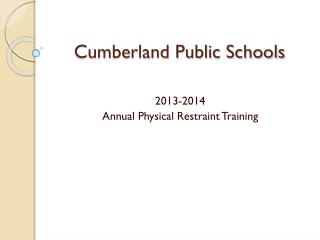 Cumberland Public Schools