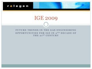 IGE 2009