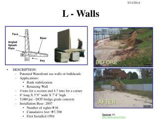 L - Walls