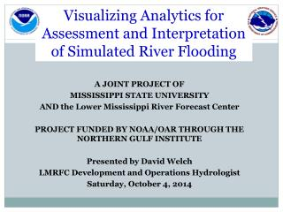 Visualizing Analytics for Assessment and Interpretation of Simulated River Flooding