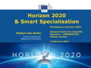 Horizon 2020  & Smart Specialisation