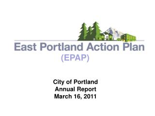 City of Portland Annual Report March 16, 2011