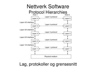 Nettverk Software Protocol Hierarchies