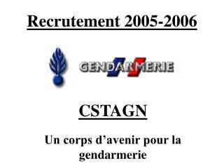 Recrutement 2005-2006