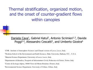 Thermal stratification, organized motion, and the onset of counter-gradient flows within canopies