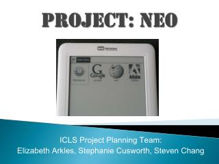 Project:  Neo