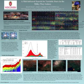 A Mid-Infrared Search for Variable Stars in the  Milky  Way Galaxy