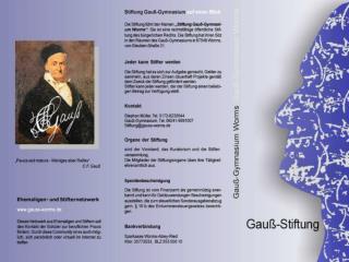 Stiftung Gauß-Gymnasium Worms