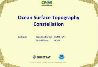 Ocean Surface Topography Constellation