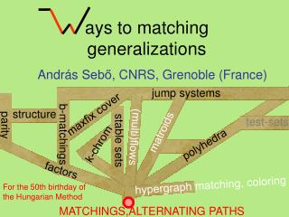 ays to matching generalizations