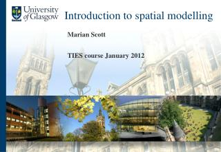 Introduction to spatial modelling