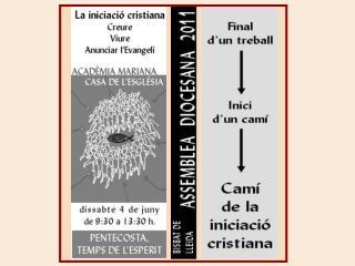 «La iniciació cristiana»