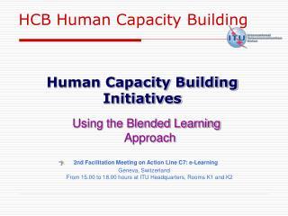 Human Capacity Building Initiatives