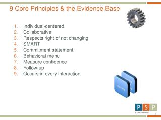 9 Core Principles & the Evidence Base