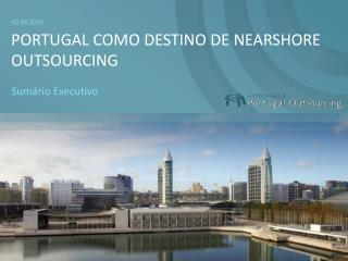 Portugal como Destino de nearshore outsourcing