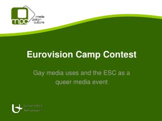 Eurovision Camp Contest
