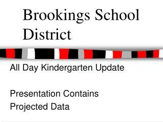 Brookings School District