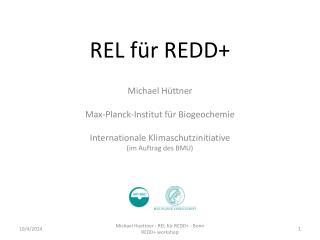 REL für REDD+