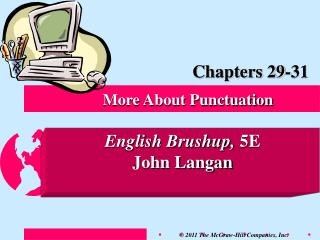 More About Punctuation