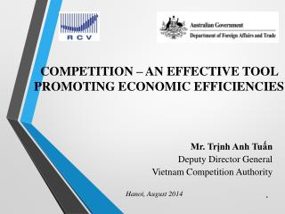 Mr. Tr?nh Anh Tu?n Deputy Director General Vietnam Competition Authority