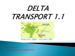 DELTA TRANSPORT 1.1