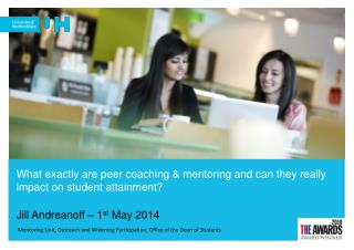 What exactly are peer coaching & mentoring and can they really impact on student attainment?