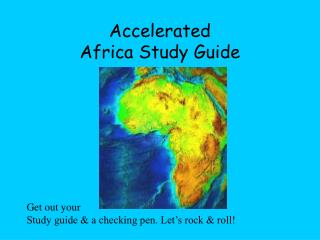 Accelerated Africa Study Guide