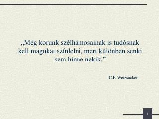 C.F. Weizsacker