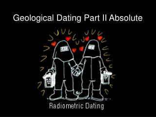 Absolute dating notes
