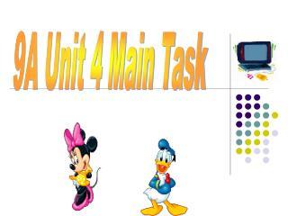 9A Unit 4 Main Task