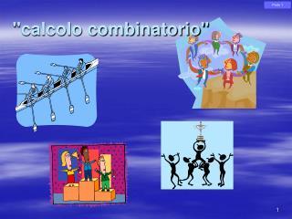 """""""calcolo combinatorio"""""""