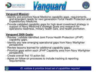 Vanguard Mission :