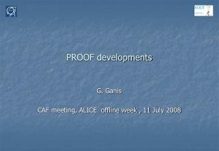 PROOF developments