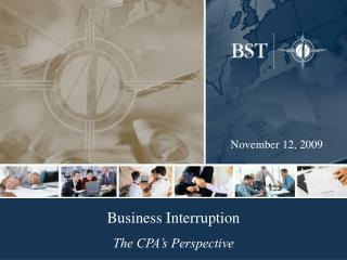 Business Interruption  The CPA s Perspective