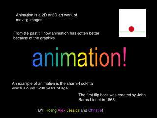 animation!