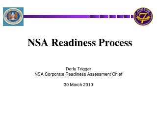 NSA Readiness Process