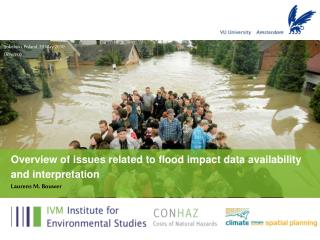 Overview of issues related to flood impact data availability and interpretation