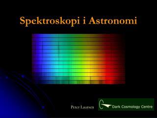 Spektroskopi i Astronomi