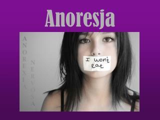 Anoresja