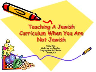 Teaching A Jewish Curriculum When You Are Not Jewish