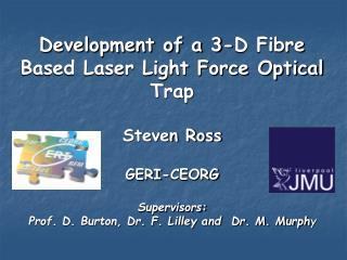 Development of a 3-D Fibre Based Laser Light Force Optical Trap