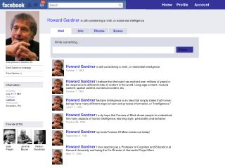 Howard Gardner  is  still considering a ninth, or existential intelligence