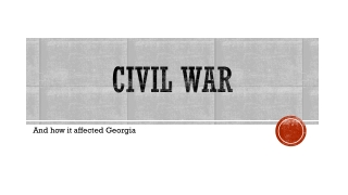 THE CIVIL WAR STANDARD 8.10