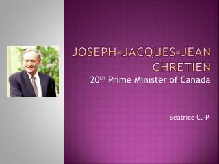 Joseph-Jacques-Jean  Chretien
