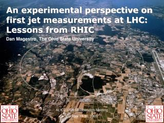 An experimental perspective on first jet measurements at LHC: Lessons from RHIC