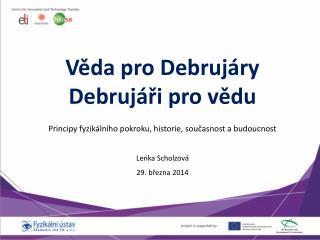 Lenka  Scholzová 29. března 2014