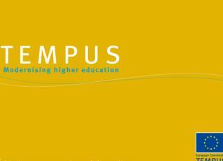 Сотрудничество в области высшего образования Tempus IV in Central Asia